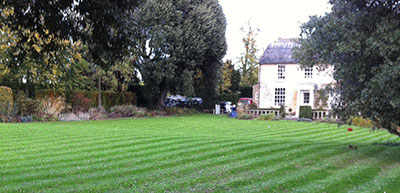 lawn stripped lawn cutting and mowing example large lawn